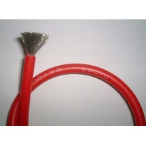 ACE 10AWG SILICONE WIRE RED