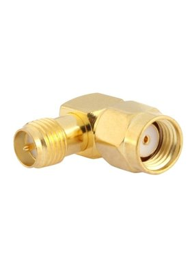 CHINA ELECTRONICS Gold Plated RP-SMA Male to RP-SMA Female Adapter