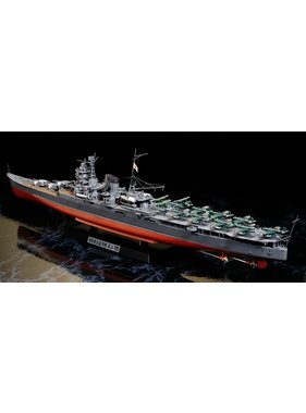 HASEGAWA TAMIYA MOGAMI JAPANESE AIRCRAFT CARRYING CRUISER 1/350 SCALE WITH PHOTO ETCHED PARTS