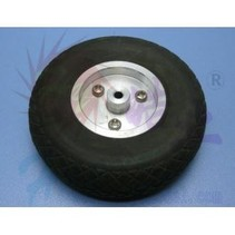 HY SCALE AIR RUBBER WHEEL ALUM RIM 2.75&quot; 70mm<br />