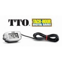 DDM TACHOMETER TRAIL TECH TTO TACH/HOUR METER (20,000 RPM)  FOR GAS ENGINES 1-8 CYCLINDERS
