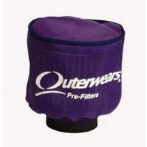 OUTERWEARS 1/5 AIR FILTER COVER UFO PURPLE FOR AFTER MARKET FILTERS