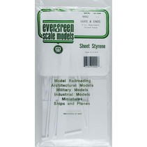 EVERGREEN ODDS AND ENDS 8OZ ASSORTMENT STYRENE PIECES 9002