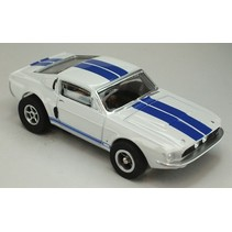 Auto World X-Traction  1967 FORD SHELBY GT500 HO SLOT CAR