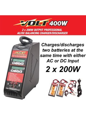 VOLT VOLT TOWER 400AC: 400 WATT DUAL TOWER CHARGER. (AUSTRALIAN RCM APPROVED)
