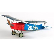 ARES ARES FOKKER DVII MICRO PTF (PAIR-TO-FLY) WITH HITEC RED RECEIVER