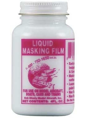 BOB DIVELY MODEL AIRCRAFT Bob Dively Liquid Masking Film 4 oz
