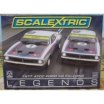 SCALEXTRIC 1977 ATCC FORD XB FALCONS LIMITED EDITIONS ( DISCONTINUED )