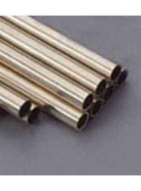 K&S K & S BRASS ROUND TUBE 11/16 X 36""
