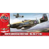 AIRFIX North American P-51K/RF Mustang 1:24