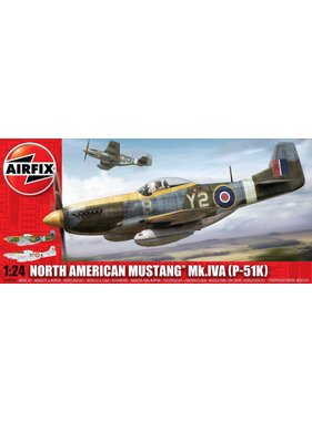 AIRFIX AIRFIX North American P-51K/RF Mustang 1:24