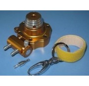 HY MODEL ACCESSORIES HY FUEL PUMP DRIVEN BY ELECTRIC STARTER OR ROTO START GOLD / YELLOW