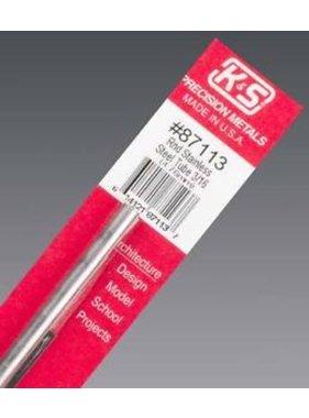 K&S K & S 3/16 STAINLESS STEEL TUBE