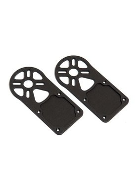 CENTURY HELI CENTURY NEO MOTOR MOUNT PLATE 4 PIECES LASER CUT NON ANODISED NEEDS HOLES TAPPED OR DRILLED TO 3MM