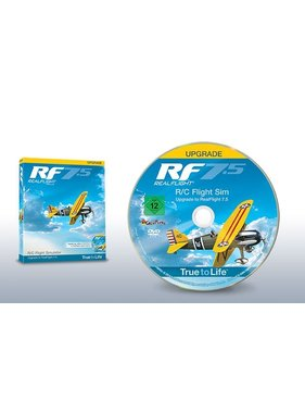 GREAT PLANES REALFLIGHT NOW $70.00 7 ( RF7.5 ) UPGRADE FOR G4 G4 OR G6