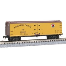MICRO TRAINS 40' WOOD REEFER NORTHERN PACIFIC Z SCALE