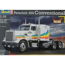 REVELL PETERBILT 359 CONVENTIONAL 1/16 07455
