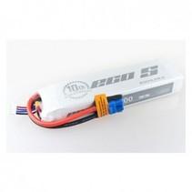 Dualsky ECO-S LiPo Battery, 11.1v 5200mAh 3S 25C