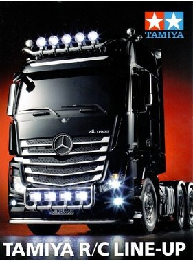 TAMIYA TAMIYA RC LINE-UP CATALOGUE VOLUME 1 2016