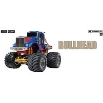 TAMIYA 1/10TH 4 X 4 X4 CUSTOMISED MONSTER TRUCK BULLHEAD  KIT FORM REQUIRES 2CH RADIO BATTERIES AND CHARGER