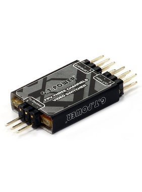 G.T. POWER RC G.T. POWER FPV THREE CHANNEL VIDEO SWITCHER