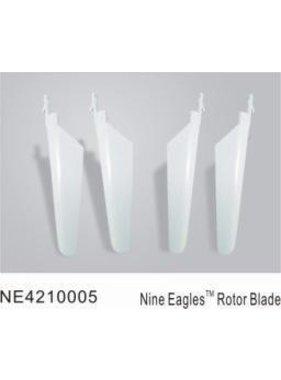 NINE EAGLE MICRO HELI ROTOR BLADES WHITE NE4210005