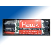 SJ PROPO GRAUPNER HAWK BRUSHLESS SPEED CONTROLLER 75A 4-12 CELLS