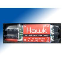 GRAUPNER HAWK BRUSHLESS SPEED CONTROLLER 75A 4-12 CELLS