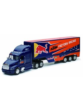 NewRay NEWRAY 1/32 PETERBILT 387 WITH RED BULL TEAM TRAILER 2013