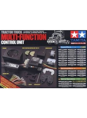 ACE RADIO CONTROLLED MODELS PACKAGE DEAL 7 FOR USA TAMIYA TRUCKS WITH MFC-01 LIGHT AND SOUND