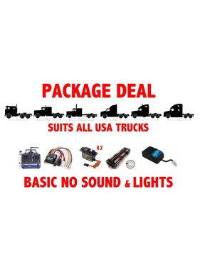 ACE RADIO CONTROLLED MODELS PACKAGE DEAL BASIC 6 FOR TAMIYA TRUCKS