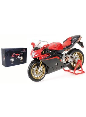 MINICHAMPS Minichamps MV Agusta F4 1000 Tamburini 2005 - Black/Red 1/12 Scale