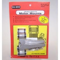 DUBRO VIBRATION REDUCING MOTOR MOUNTS 75-108
