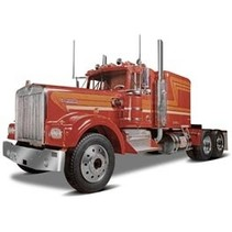 Monogram 1/16 Kenworth® W-900 Conventional Plastic Model Kit 85-2501