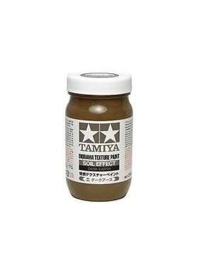 TAMIYA TAMIYA DARK EARTH SOIL EFFECT TEXTURE PAINT 250mL