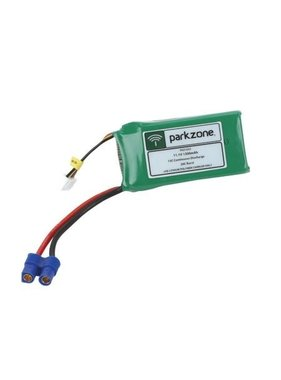 PARKZONE PARKZONE 11.1V 1300mAh LIPO BATTERY EC3 CONNECTOR