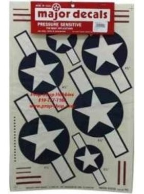 MAJOR DECALS MAJOR DECALS US STARS AND BARS 40 SIZE