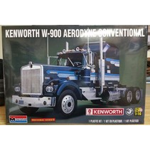 REVELL KENWORTH W-900 AERODYNE CONVENTIONAL 1/16 KIT