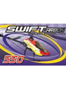 CENTURY HELI CENTURY SWIFT 550 CARBON KIT ( DISCONTINUED  PARTS STILL STOCKED )