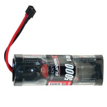 RADIENT 8.4V NIMH 5000MAH SUPERPAX HUMP PACK WITH DEANS CONNECTOR