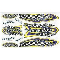 JACKAL  1/24-125 th DECALS FINISH LINE PINE