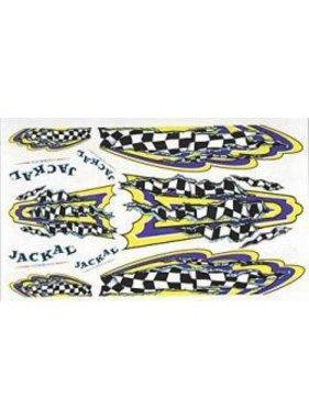 JACKAL JACKAL  1/24-125 th DECALS FINISH LINE PINE