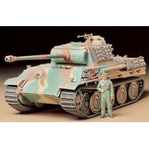 Tamiya 1/35 plastic kit Panther Type G Steel Wheels