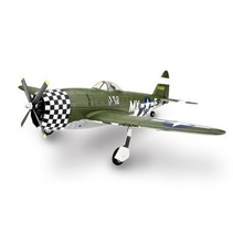 E-Flite P-47D Thunderbolt RC Plane, BNF Basic with Retracts