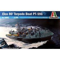 ITALERI ELCO 80' PT-596 TORPEDO BOAT 1/35 5602