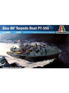 ITALERI ITALERI ELCO 80' PT-596 TORPEDO BOAT 1/35 5602
