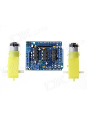 ACE RADIO CONTROLLED MODELS Optical Isolation Motor Drive Module w/2 DC 3V-6V Speed Decreaser Motors
