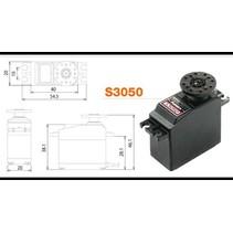 FUTABA DIGITAL SERVO 0.16SEC/60 AT 6.0V  6.5KG-CM AT 6.0V 40 X 20 X 38.1MM  48.8G<br />FUT DIG S3050 6.58kg