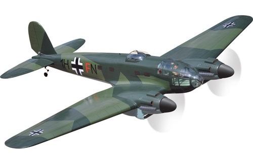 Black horse black horse heinkel he 111 acercmodels - Coloriage bombardier ...
