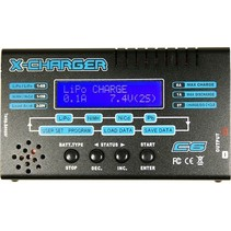 GT C6 DC BALANCE CHARGER <br /> 1-6S   LIPO <br /> 1-15S NIMH <br /> 2-20V LEAD ACID  <br /> 6AMP MAX CHARGE <br /> 1AMP DISCHARGE <br /> 5 X CYCLES